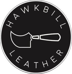 hawkbill leather logo
