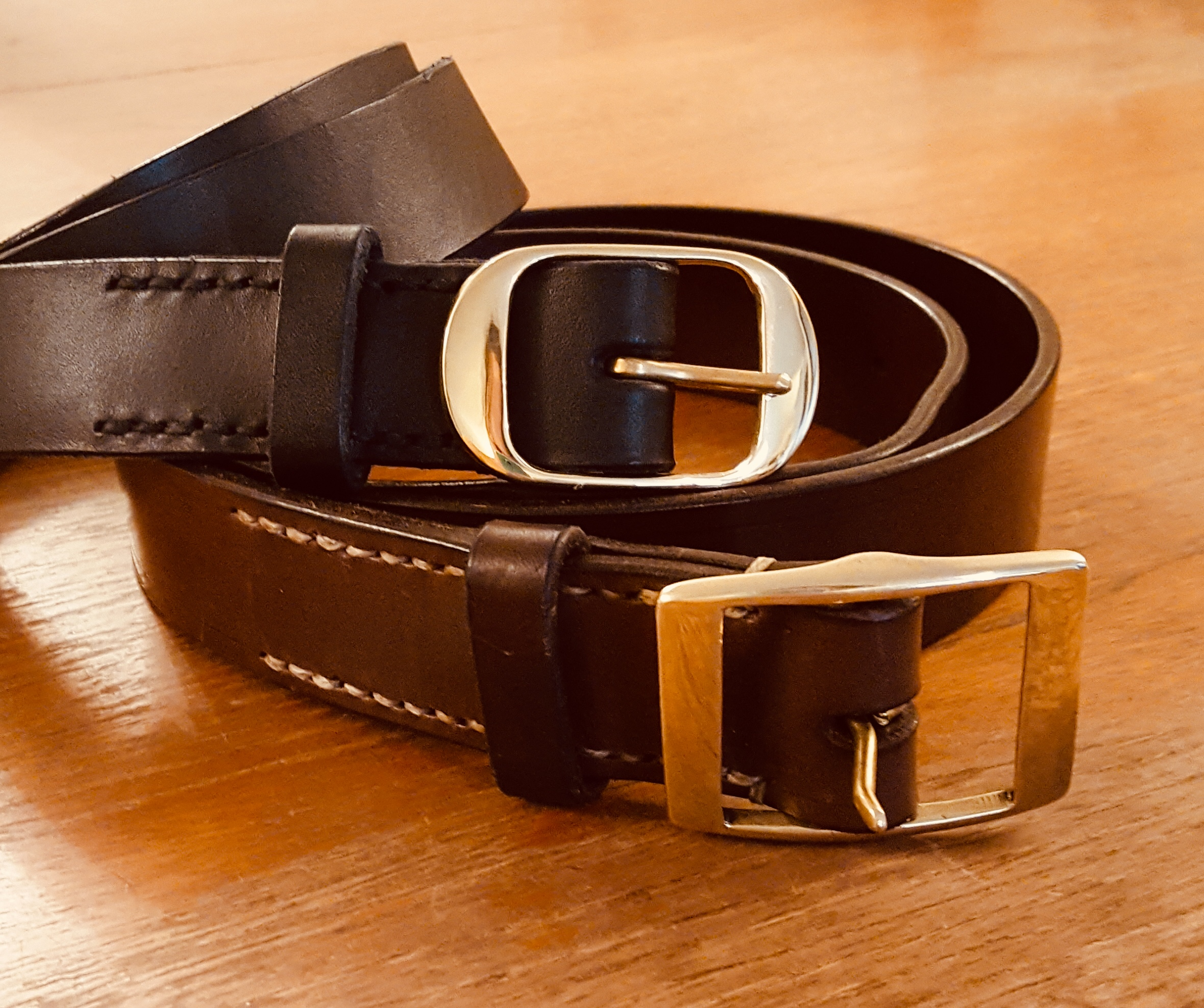 traditional english bridle leather belt
